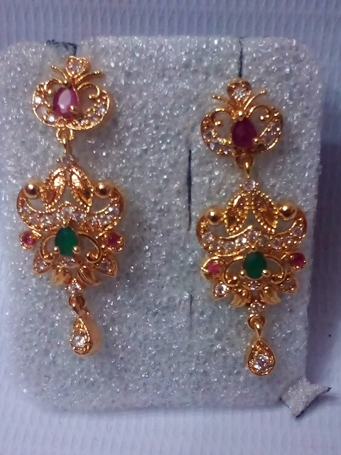 Ear Ring 059 Gold Covering