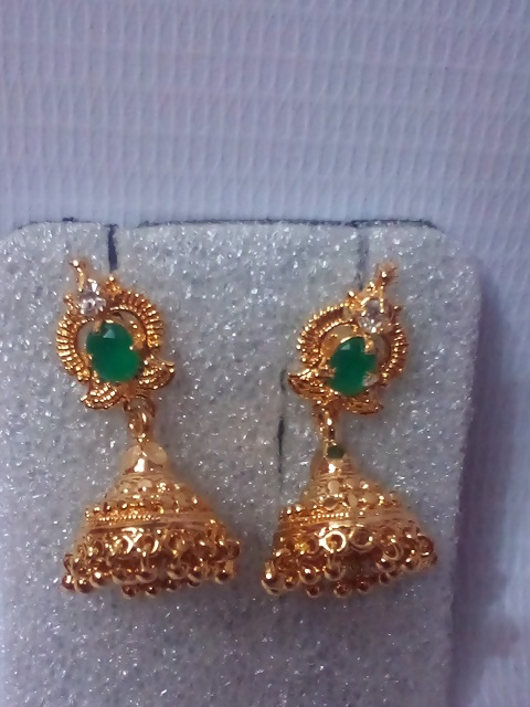 Ear Ring 064 Gold Covering